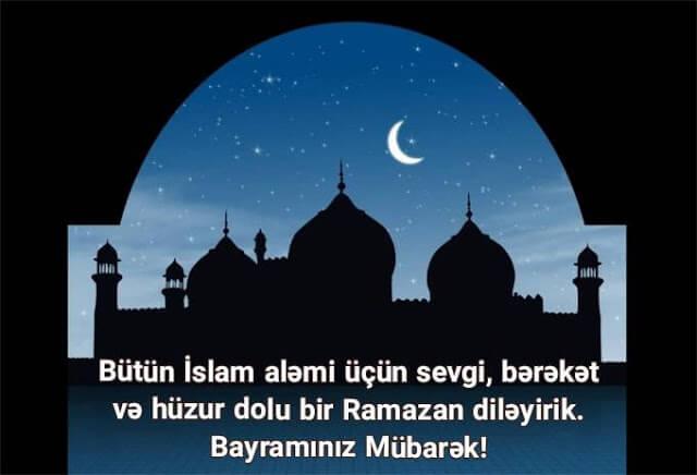 ramazan bayrami tebrikleri