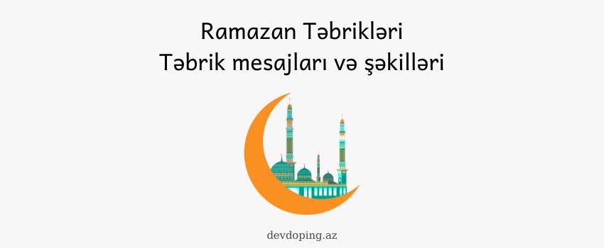 Photo of Ramazan tebrikleri və təbrik şəkilləri