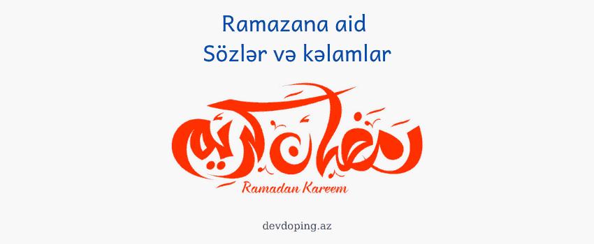Photo of Ramazana aid statuslar və sözlər