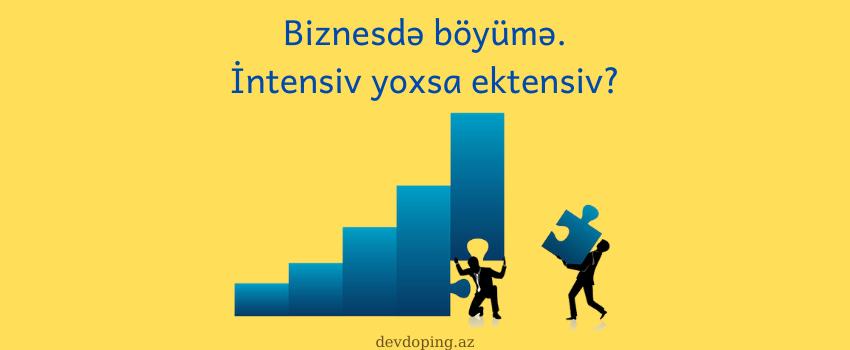 Photo of Biznesdə böyümə: intensiv yoxsa ektensiv?
