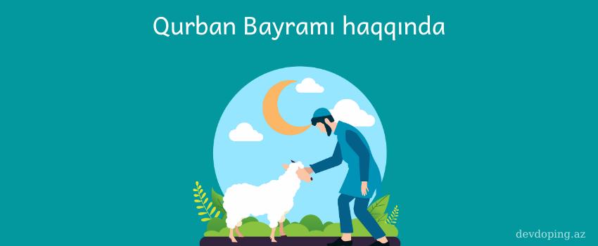 Photo of Qurban bayramı haqqında (2020)