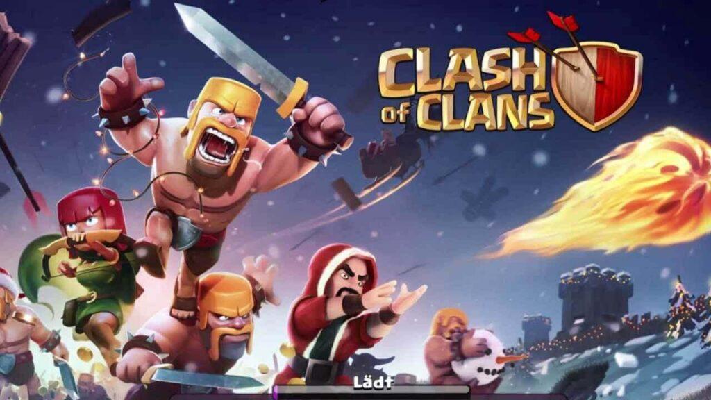 maraqli oyunlar - clash of clans oyunu