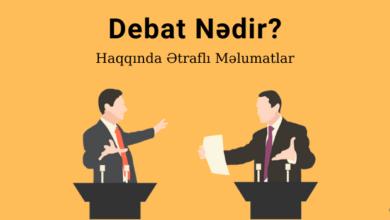 Photo of Debat nədir? Debat Haqqında… ✅