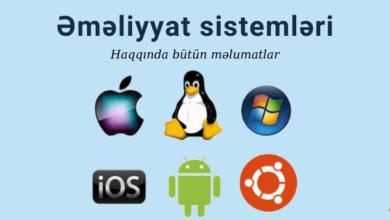 Photo of Emeliyyat Sistemleri nədir və hansılardır? ✅