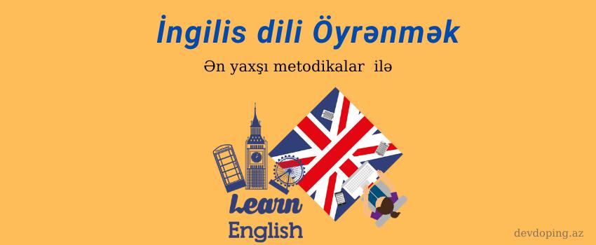 ingilis dilini oyrenmek