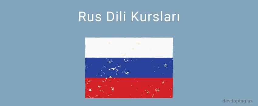rus dili kurslari