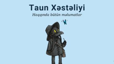 Photo of Taun Xesteliyi Haqqında Məlumatlar 2020 ✅