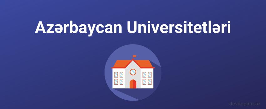 Azerbaycan Universitetləri