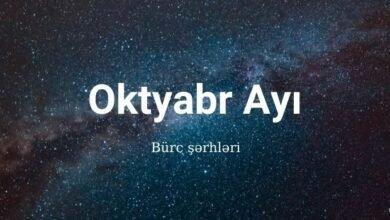 Photo of Aylıq Bürclər 2020 –  Oktyabr ayı ✅