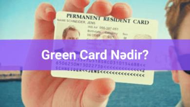 Photo of Greencard nədir? Green Card nə üçündür? ✅