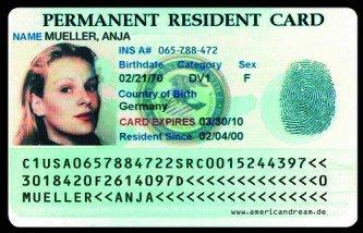 green card nədir?