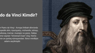 Photo of Leonardo da Vinci kimdir?