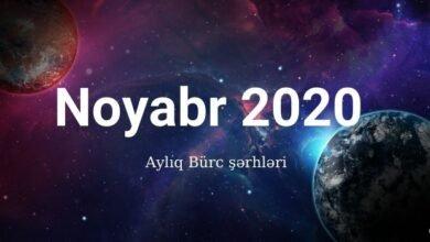 Photo of Aylıq Bürclər – Noyabr ayı 2020 ✅