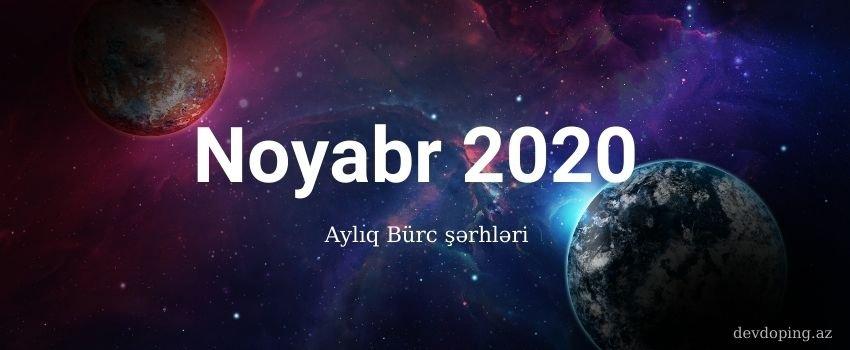 ayliq burcler 2020 Noyabr