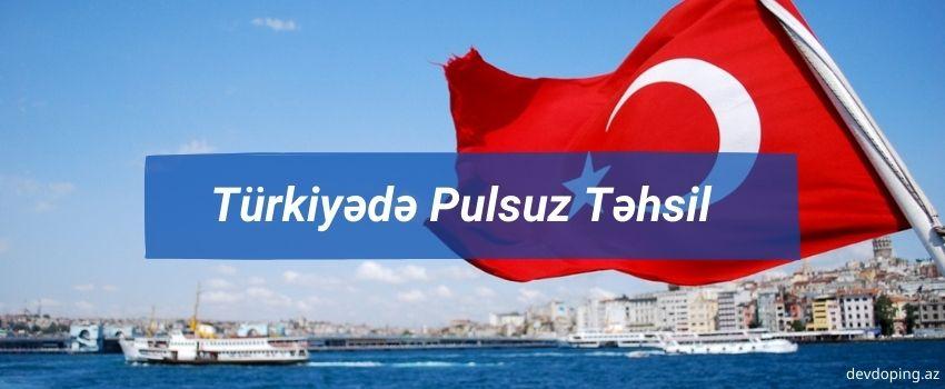 Turkiyede pulsuz tehsil