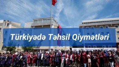 Photo of Turkiyede tehsil qiymetleri (2021) ✅