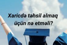 Photo of Xaricdə təhsil almaq üçün nə etməli?