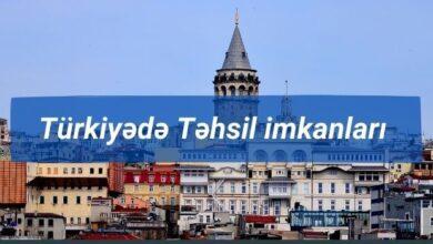 Photo of Türkiyədə Tehsil haqqında əsas məlumatlar